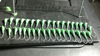 Green leadheads