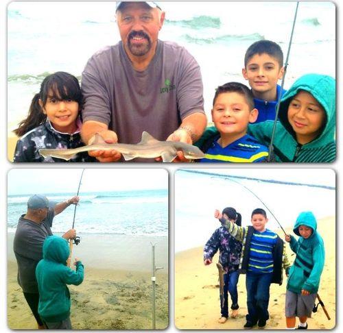 Video: Huck Finn Fishing Derby on the Huntington Beach Pier with